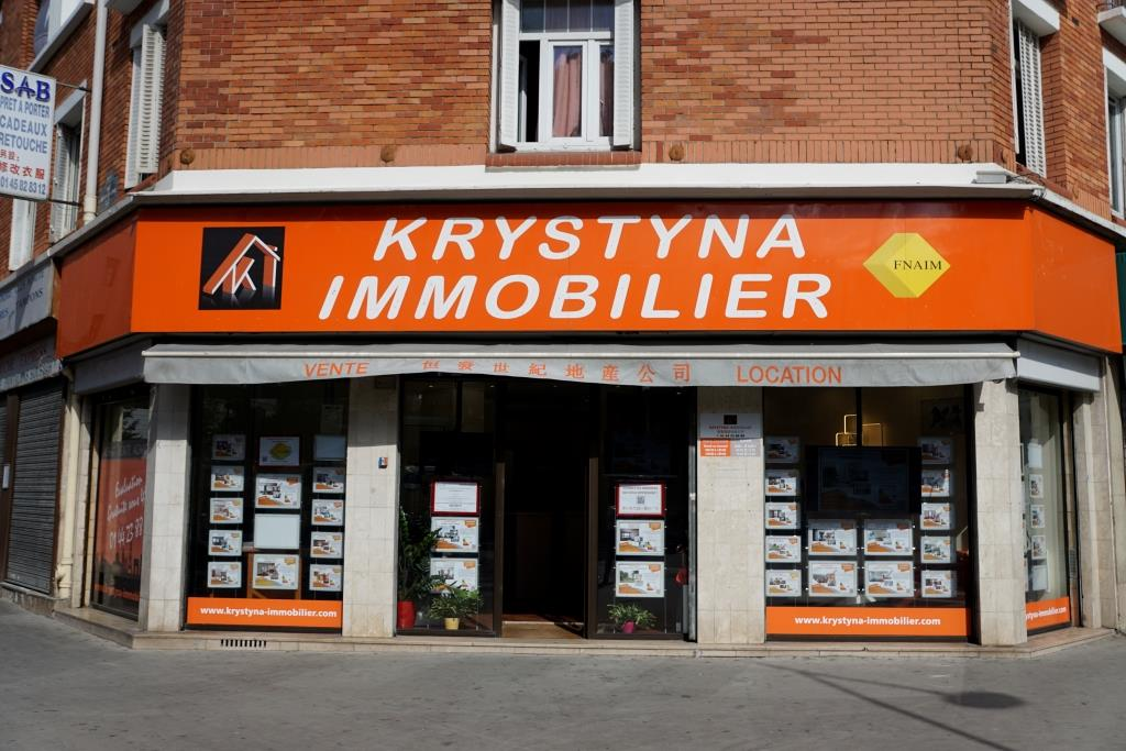 KRYSTYNA IMMOBILIER Paris 13eme